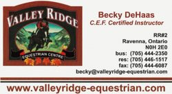 Valley Ridge Equestrian Centre